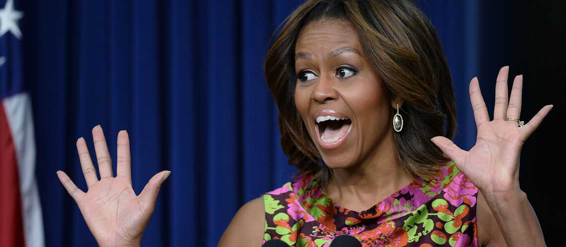 Michelle Obama, star du petit écran