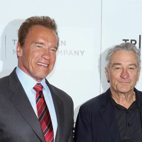 Robert De Niro et Arnold Schwarzenegger complices à TriBeCa