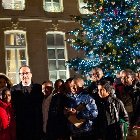 Albert de Monaco, François Hollande, Obama: les dirigeants au pied du sapin