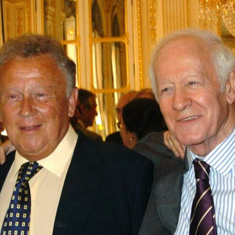 Philippe Bouvard «effondré» par la mort de Jacques Chancel