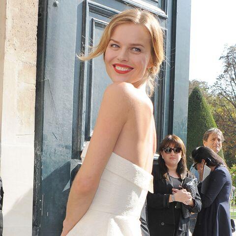 Eva Herzigova, capture élégante pour Dior
