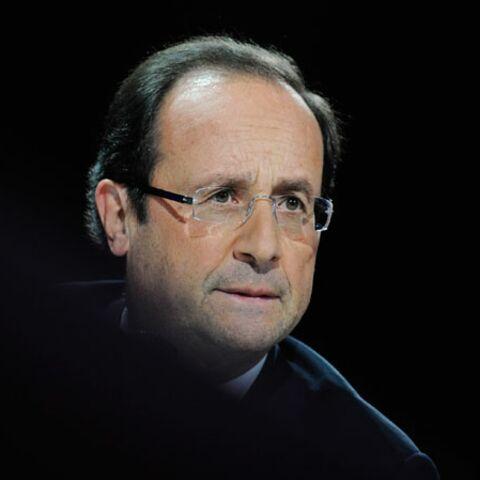 François Hollande man in black