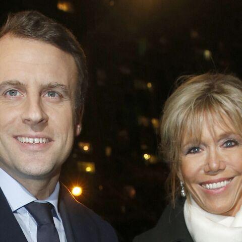 PHOTOS – Emmanuel et Brigitte Macron: baisers et effusions de tendresse sur scène