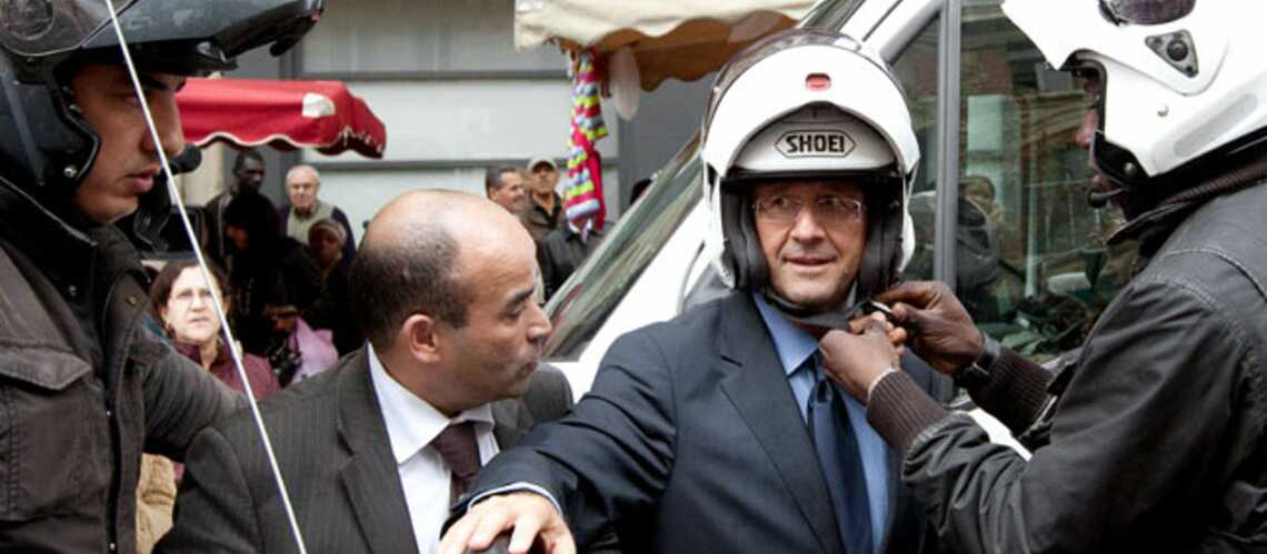 Le casque de François Hollande en rupture de stock