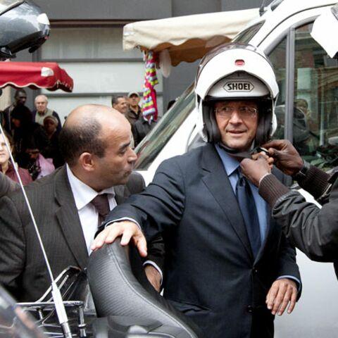 Le casque de François Hollande en rupture de stock