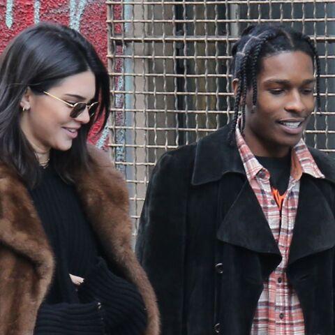 PHOTOS – Kendall Jenner se balade en fourrure aux puces de Saint-Ouen avec son boyfriend A$AP Rocky