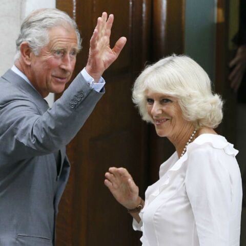 Le prince Charles et Camilla à St Mary's