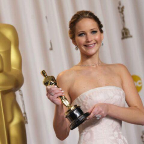 Jennifer Lawrence s'est débarrassée de son Oscar