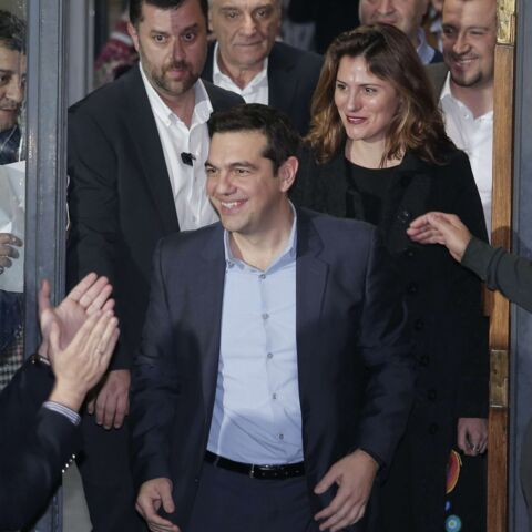 Betty, la femme derrière Alexis Tsipras