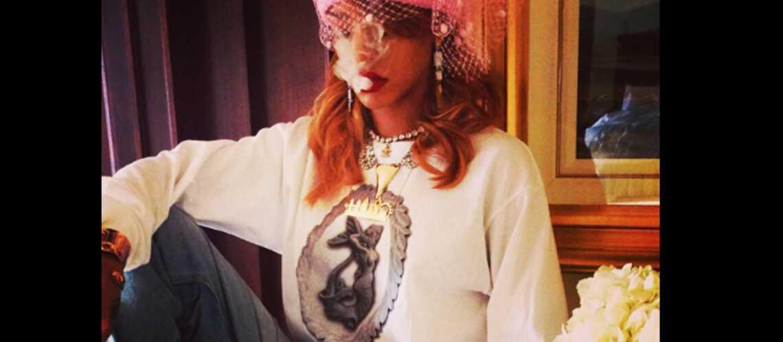 Photos- Rihanna dans son élément à Amsterdam