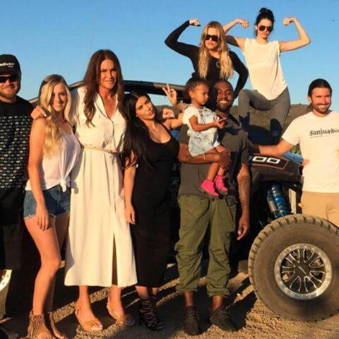 Première photo en famille pour Caitlyn Jenner