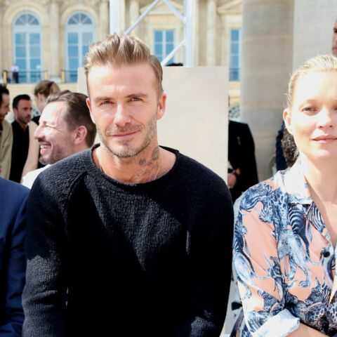 David Beckham et Kate Moss stars du show Vuitton