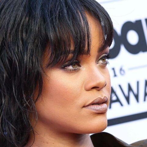 Rihanna émue aux larmes pendant son concert à Dublin
