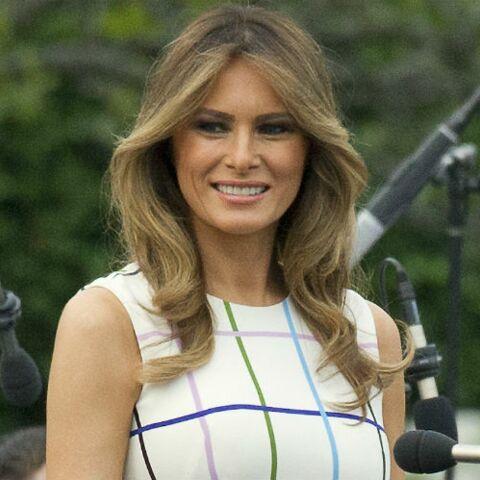 PHOTOS – Melania Trump tout sourire, opération séduction pour la First Lady