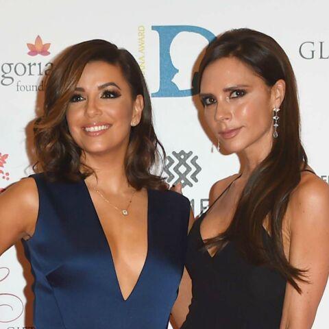 Victoria Beckham taille un costume à Eva Longoria
