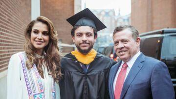 Rania et Abdullah de Jordanie, si fiers de leur fils