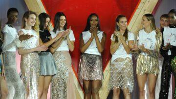 PHOTOS – Naomi Campbell, Bella Hadid, Kendall Jenner ou Kate Moss défilent pour la bonne cause