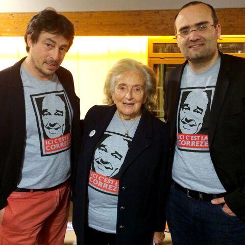Bernadette Chirac dans le plus pur style corrézien