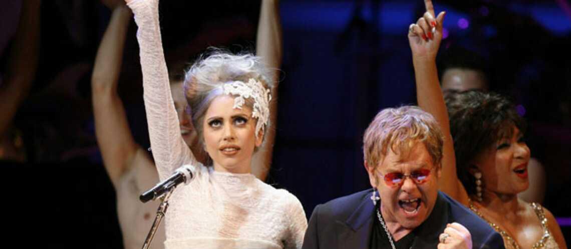 Lady Gaga, bientôt en duo avec Elton John?
