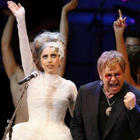 Elton John s'inquiète pour Lady Gaga