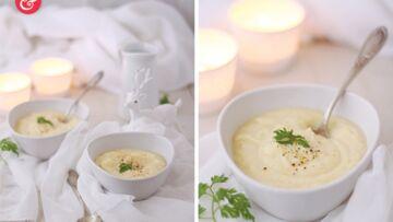 Crème de chou-fleur au lait de coco