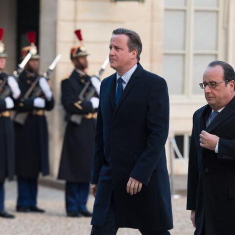 François Hollande et David Cameron: la rose du Bataclan…