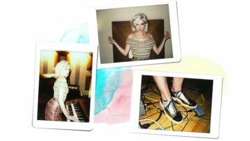 Cécile Cassel met Chanel à ses pieds avec ses derbies métallisées