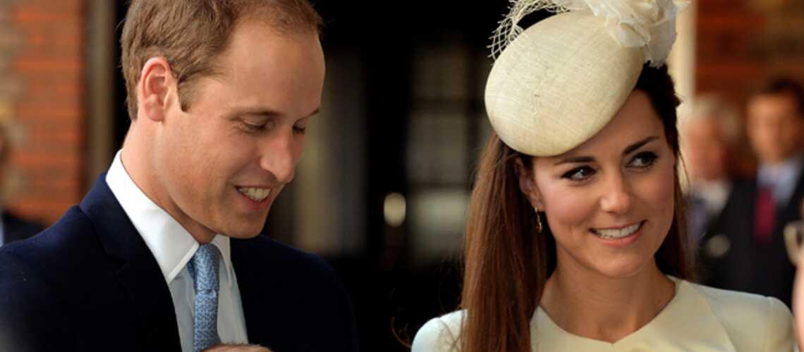 Royal Baptême: Kate Middleton sublime en ivoire