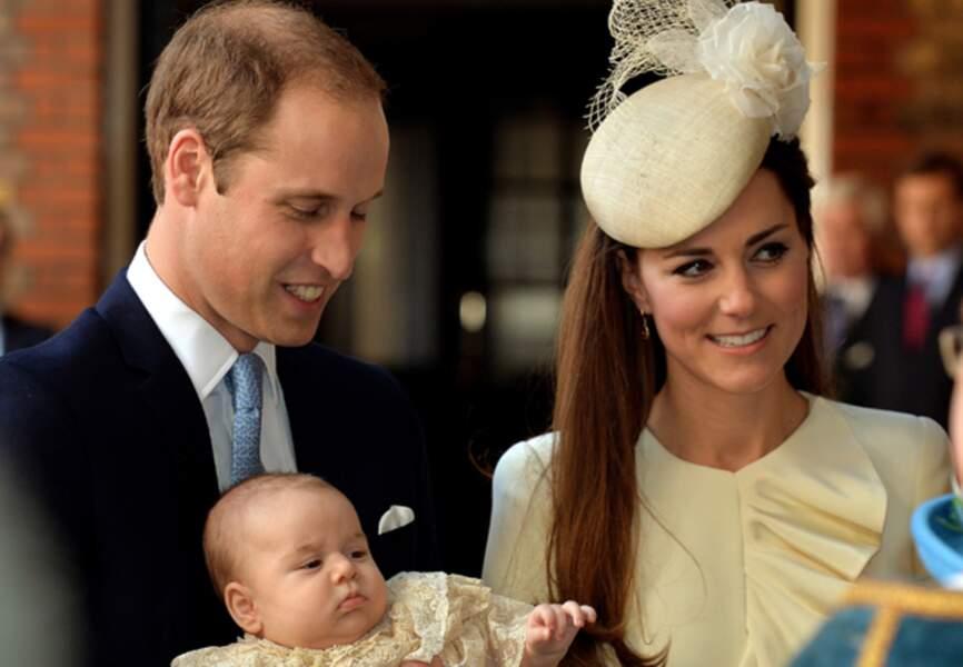 Le jeune couple royal et son baby
