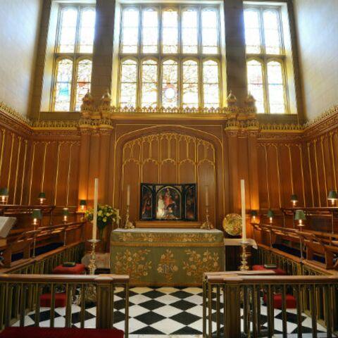 Photos – La chapelle royale du palais de St James s'apprête à accueillir le prince George