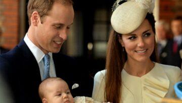 Photos- Le prince George, tout juste baptisé