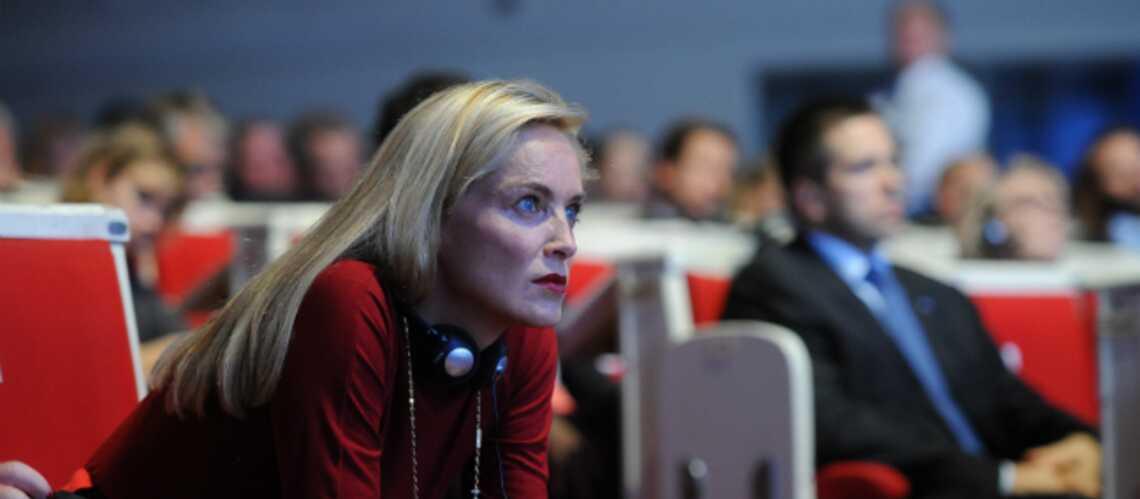 Photos – Sharon Stone au sommet annuel des prix Nobel de la paix