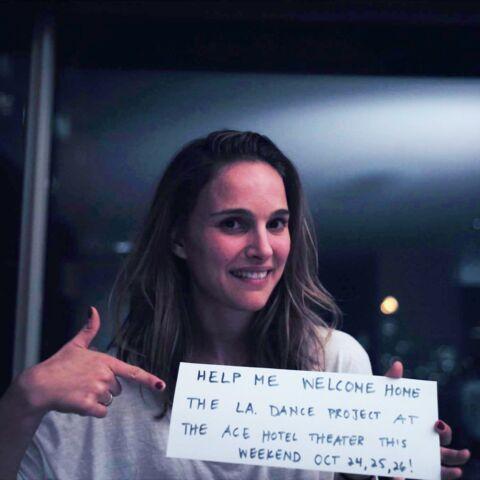 Natalie Portman soutient son homme