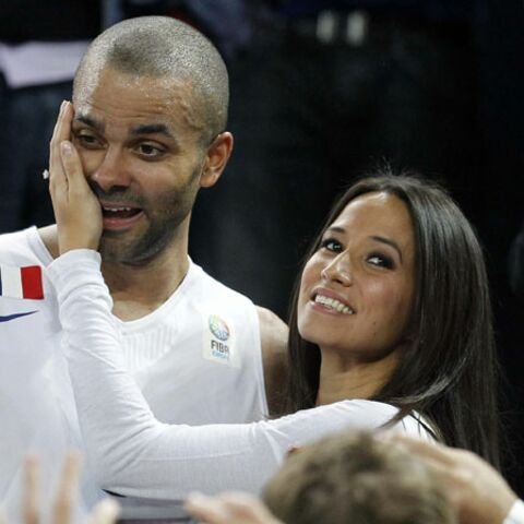 Tony Parker champion d'Europe: Axelle sa première supportice!