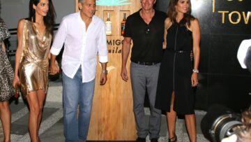 George et Amal Clooney, leurs vacances entre amis à Ibiza