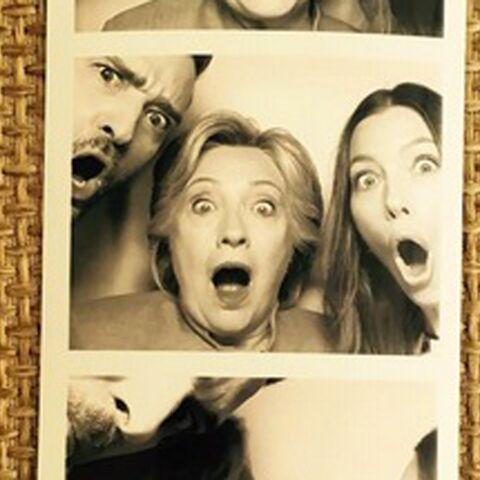 Photo – Justin Timberlake et Jessica Biel à la rescousse d'Hillary Clinton