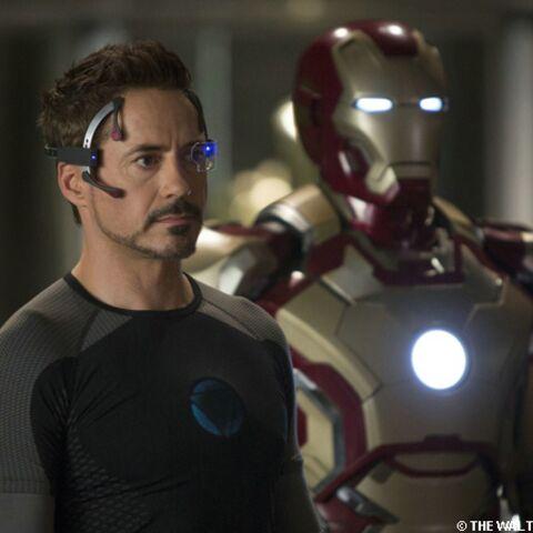 Iron Man 3: Robert Downey Jr a du souci à se «fer»
