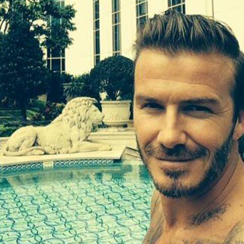 David Beckham, topless à Macao
