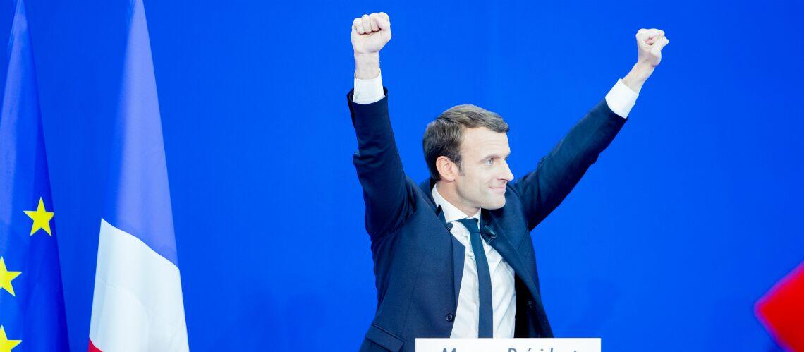 Surprise: la maman d'Emmanuel Macron était à ses côtés lors de sa victoire du premier tour de la présidentielle
