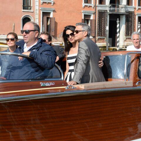 George et Amal Clooney, leur premier Noël de mariés
