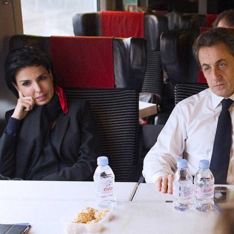 Rachida Dati dans les bras de son candidat