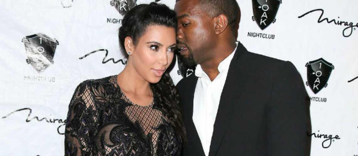 Kim K et Kanye West: c'est une fille!