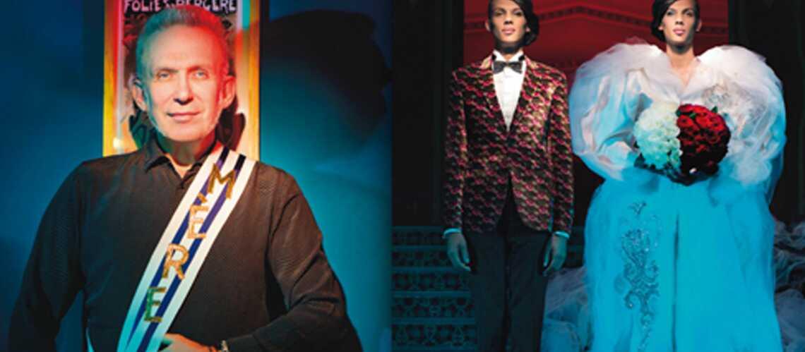 Stromae: marié en Jean Paul Gaultier pour Têtu