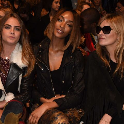 Fashion Week : Kate Moss, Naomi Campbell et Cara Delevingne chez Burberry