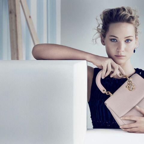 Jennifer Lawrence, très ladylike pour Be Dior