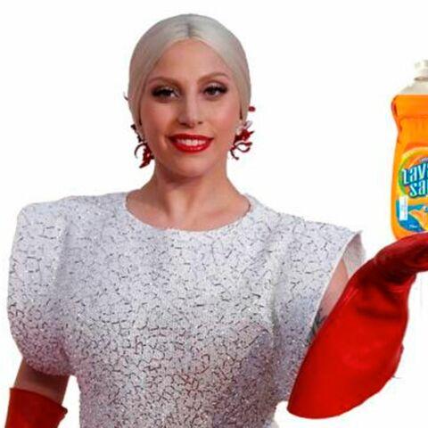 Quand Lady Gaga se la joue Monsieur Propre