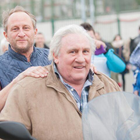 Gérard Depardieu et Benoît Poelvoorde, père et fils