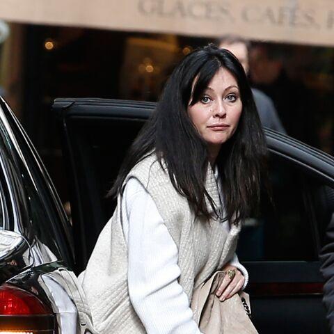 Shannen Doherty en visite à Paris