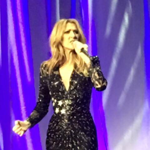 Flamboyante Céline Dion