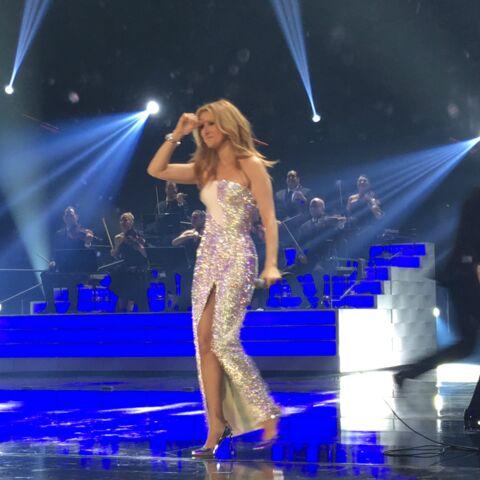 Exclu- Le concert de Céline Dion vu de l'intérieur